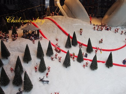 Selfridgesのクリスマス_f0238789_19544172.jpg