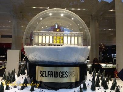 Selfridgesのクリスマス_f0238789_20112218.jpg