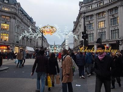 Selfridgesのクリスマス_f0238789_20144147.jpg