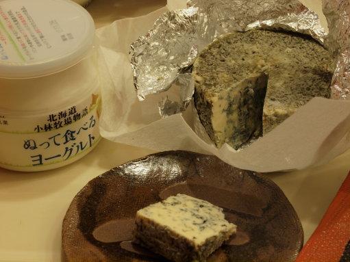 ブレッチェンと北海道チーズ  +修学旅行のお土産_b0254207_211293.jpg