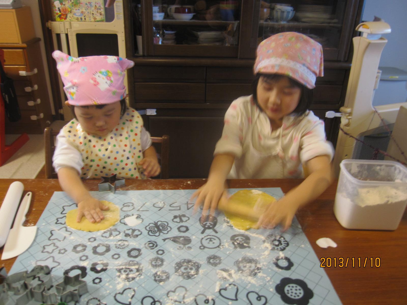 クッキー作り☆。・。・_f0231042_1434540.jpg