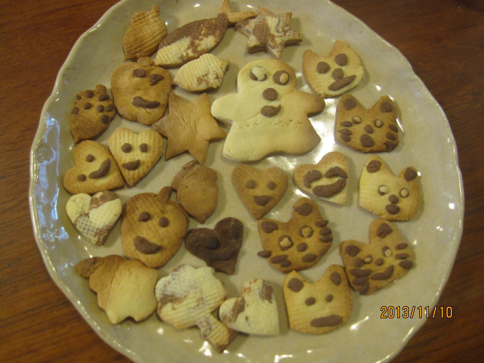 クッキー作り☆。・。・_f0231042_1435463.jpg