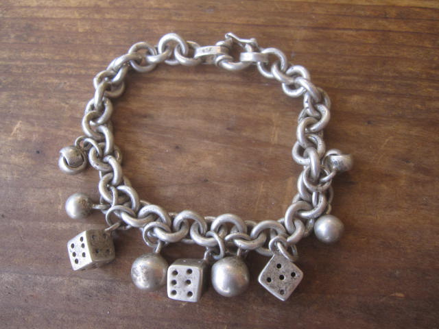 Vintage 950 Silver Charm Bracelet!! _d0098545_13314244.jpg