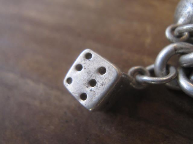 Vintage 950 Silver Charm Bracelet!! _d0098545_13315576.jpg