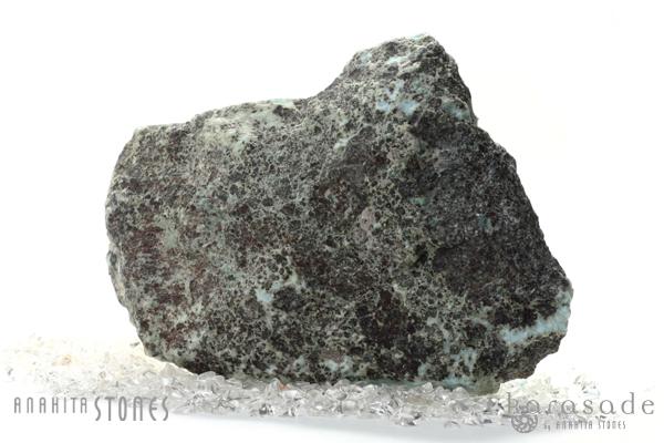 ラリマー原石(ドミニカ産)_d0303974_1419365.jpg
