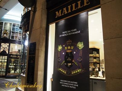 Mailleの期間限定の黒トリュフマスタード_f0238789_17524745.jpg