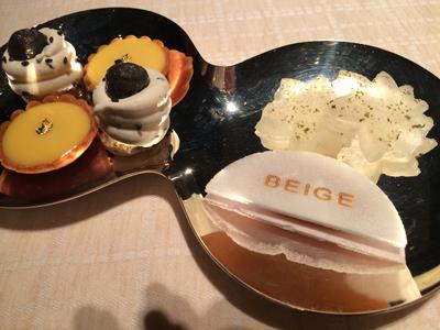 BEIGE  ランデヴー 〜末富〜_e0154202_144592.jpg