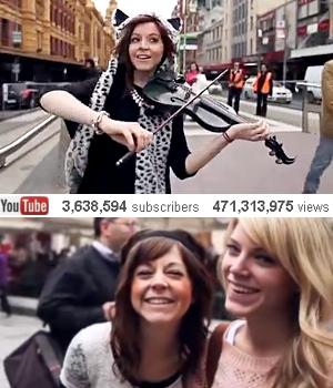 踊るバイオリニスト、リンジー・スターリング(Lindsey Stirling)さんの世界ツアーを垣間見れる音楽ビデオ_b0007805_051976.jpg