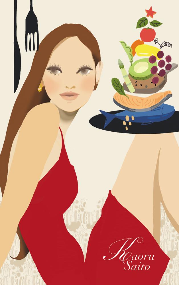 雑誌『からだにいいこと』巻末コラム12食べた物が肌をつくる_f0172313_19245244.jpg