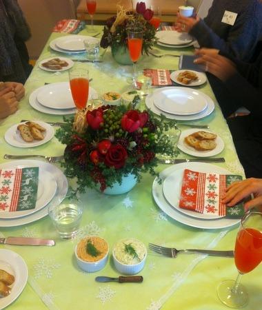 イタリアンXmasレッスン♪・・・お魚と野菜でヘルシーに!_f0141419_8294450.jpg
