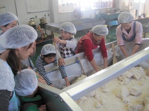 お味噌の手作り体験 in 三潴郡大木町_b0206253_15101123.jpg