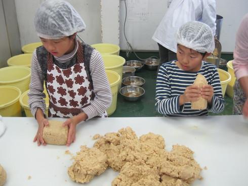 お味噌の手作り体験 in 三潴郡大木町_b0206253_1518152.jpg
