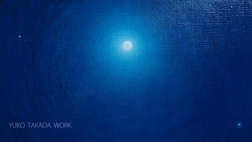満月のひかりを描く。_b0240382_23132294.jpg