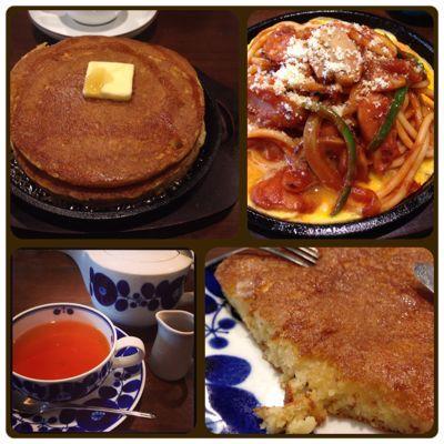 ビックリな美味しさのホットケーキ@敷島珈琲店_b0065587_16435671.jpg