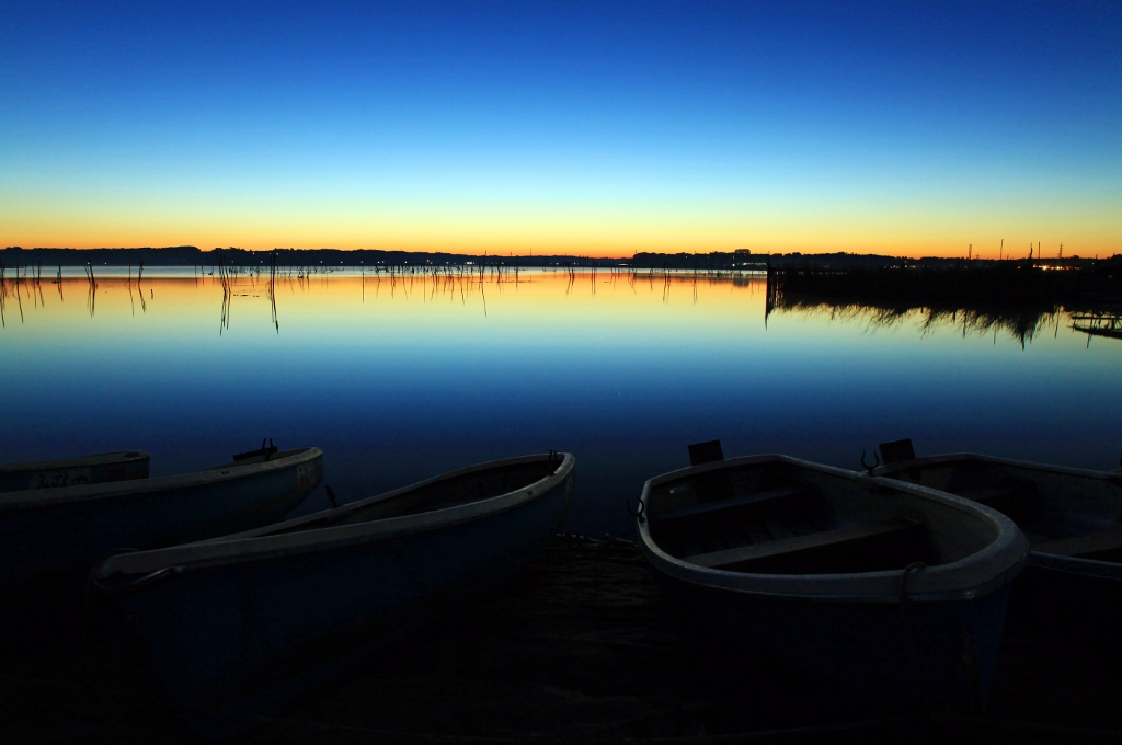 印旛沼ブルーモーメントの夜明け_b0083801_0441842.jpg