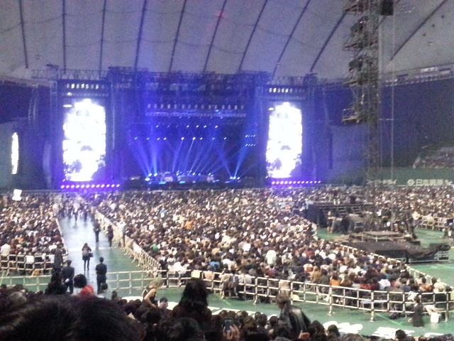 2013年11月21日 PAUL McCARTNEY OUT THERE JAPAN TOUR 最終日@東京ドーム_b0042308_057531.jpg