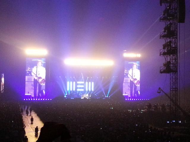 2013年11月21日 PAUL McCARTNEY OUT THERE JAPAN TOUR 最終日@東京ドーム_b0042308_0581022.jpg