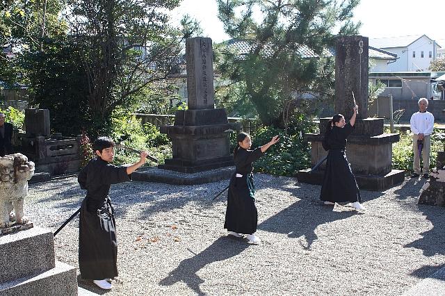 平成25年 新嘗祭奉納演武_c0045448_16172173.jpg