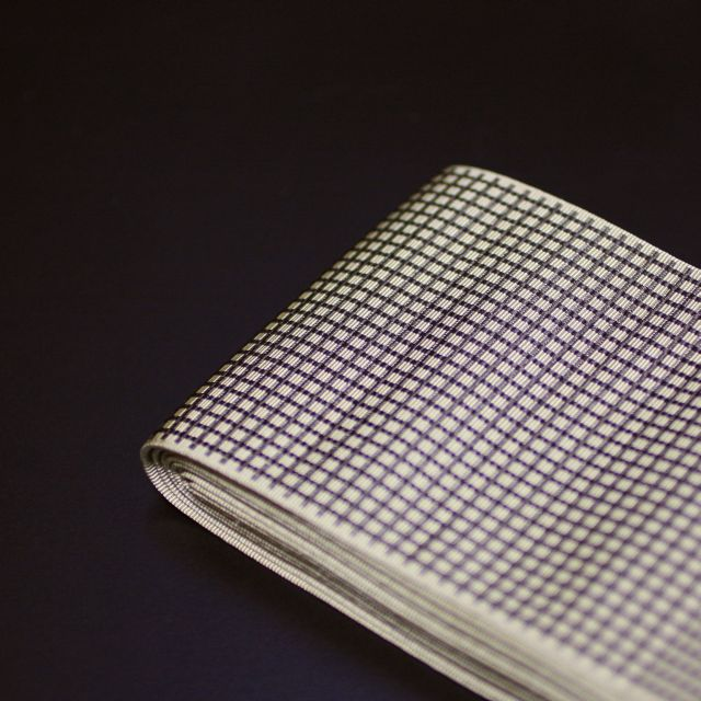 微塵格子の角帯_e0220163_17242521.jpg