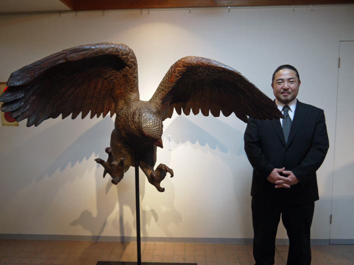 明日11月24日から奥西稀生木彫展:鎌倉宮アートスペース_c0014967_1014532.jpg