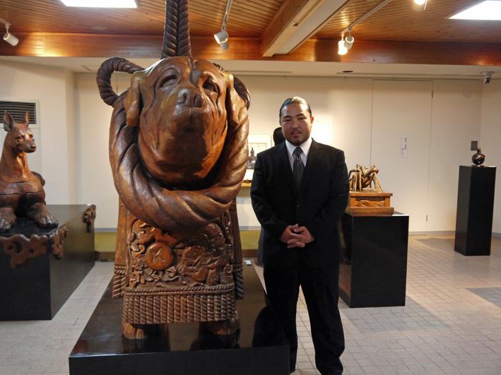 明日11月24日から奥西稀生木彫展:鎌倉宮アートスペース_c0014967_10151934.jpg
