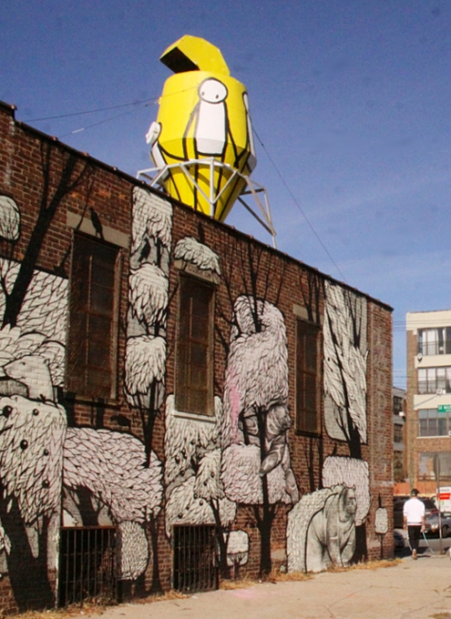"NYのイースト・ビレッジに""Liberty""ってタイトルの巨大壁画が登場_b0007805_062858.jpg"