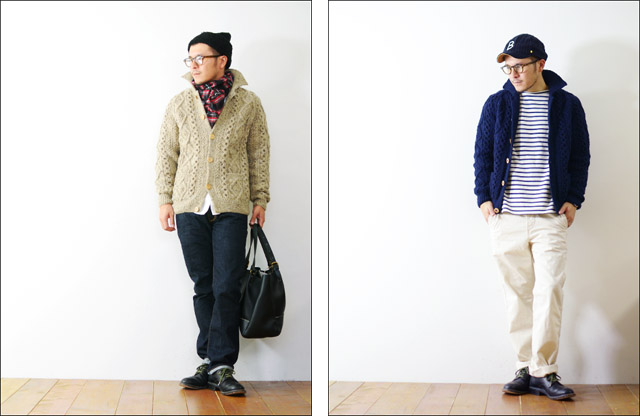 Athena Designs [アテナデザイン] 2s+CLR CARDIGAN WITH COLLAR [カラーカーディガン] _f0051306_16412269.jpg