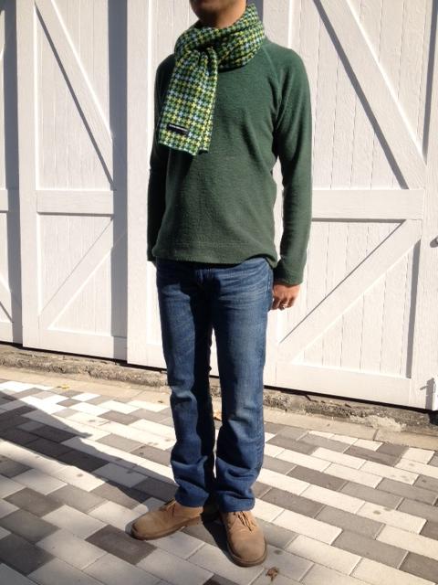 暖かい!洗えるウールのパイル編みTシャツ!_d0108933_13581972.jpg