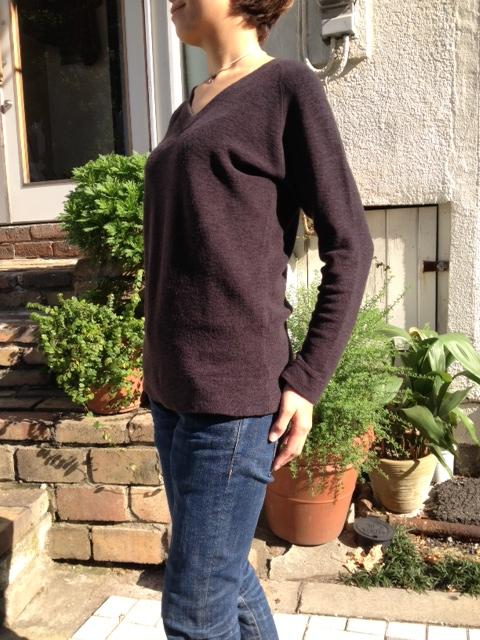 暖かい!洗えるウールのパイル編みTシャツ!_d0108933_13585138.jpg