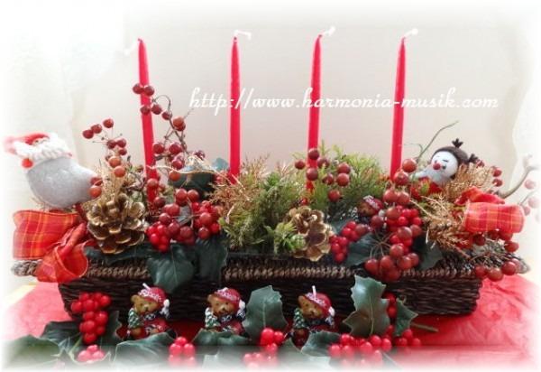 ☆クリスマスアレンジ作成_d0165645_11393579.jpg