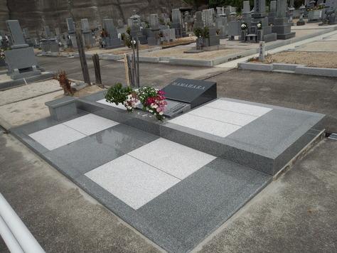 デザイン石碑 洋型墓石_c0160758_10501287.jpg