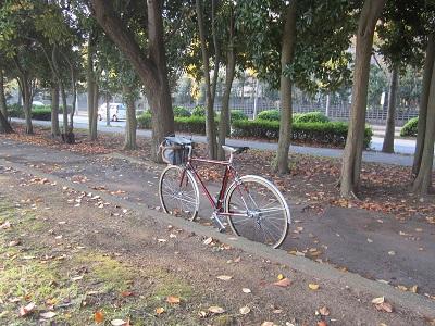 本日の自転車はランドナー ...
