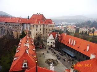 Czech Republic チェスキー・クルムロフ城_e0195766_8331281.jpg