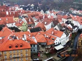 Czech Republic チェスキー・クルムロフ城_e0195766_8342315.jpg