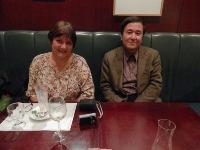 佐藤先生がフランス国立言語文化研究所教授ソシエ先生と2年ぶりにお会いする。_e0091580_2113360.jpg