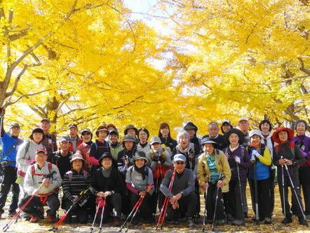 11月23日(土) 昭和記念公園で紅葉NW_c0222190_20544929.jpg