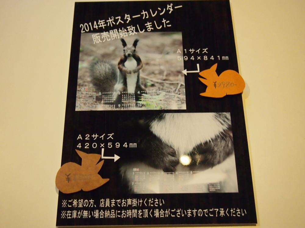 「2014・エゾリス・ポスターカレンダー」販売をはじめました。_f0276498_1764336.jpg