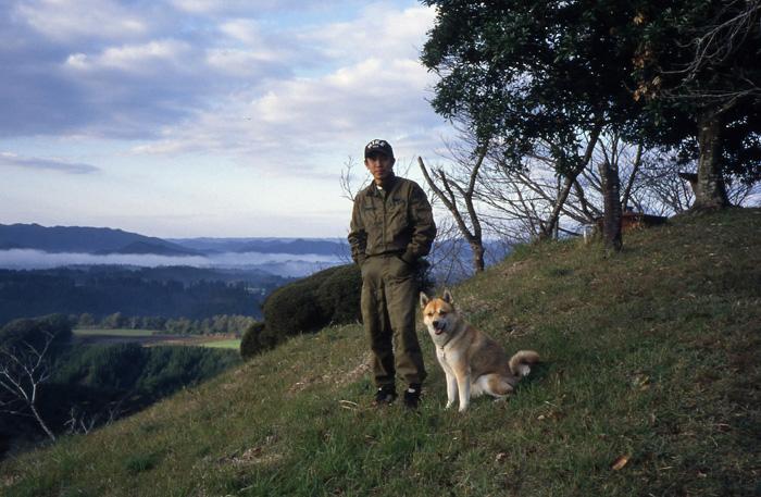 犬連れのはじまり_c0049299_1940286.jpg
