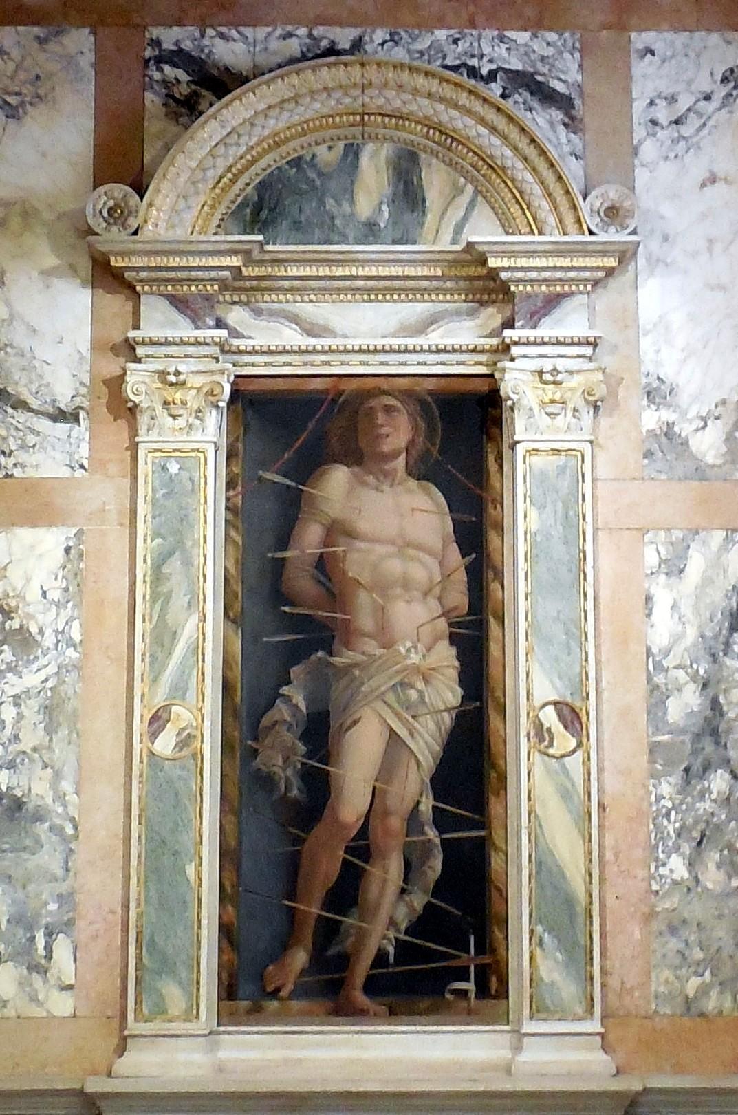 """ヴェネチアのカ・ドーロ\""""Ca\' d\'Oro\""""とマンテーニャの「聖セバスティアヌス」_d0116009_129465.jpg"""
