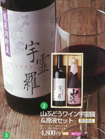 ワイン専門誌に「龍泉洞 貯蔵山ぶどうワイン『宇霊羅』」掲載_b0206037_1634199.jpg
