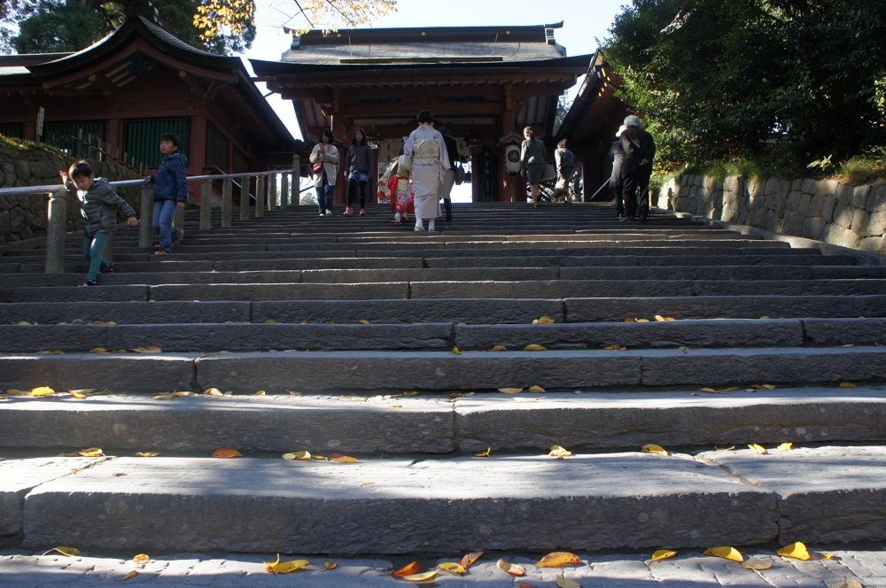 鹽竈神社 本殿へ向かう_d0001843_23101418.jpg