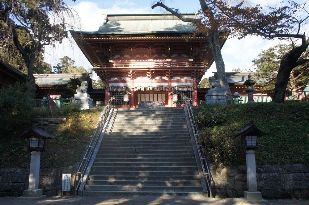 鹽竈神社 本殿へ向かう_d0001843_23104282.jpg