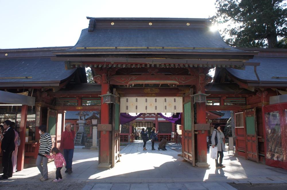 鹽竈神社 本殿へ向かう_d0001843_23112299.jpg