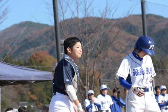 福島選抜VS東稜高校②_b0249247_20295564.jpg