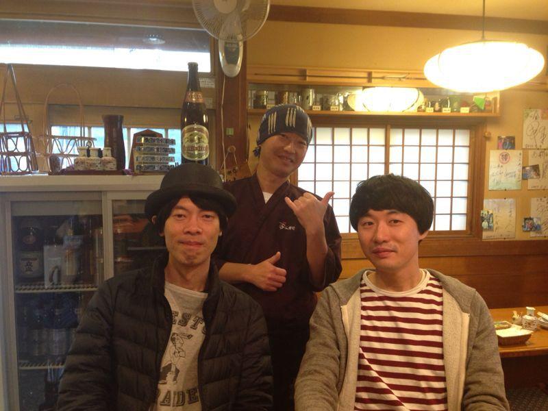 ミュージシャン HARCOさんと山田稔明さん 御来店 \(^0^)/ _c0110051_1416818.jpg