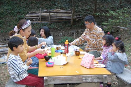「きのくに子どもNPO」が孝子の森にやってっ来た     by     (TATE-misaki)_c0108460_2424362.jpg