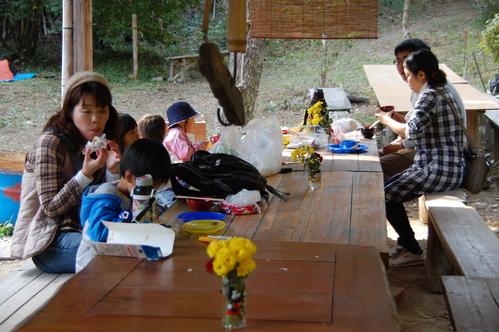 「きのくに子どもNPO」が孝子の森にやってっ来た     by     (TATE-misaki)_c0108460_2443441.jpg