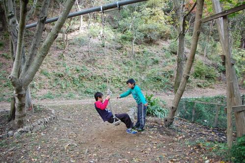 「きのくに子どもNPO」が孝子の森にやってっ来た     by     (TATE-misaki)_c0108460_2452486.jpg