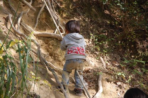 「きのくに子どもNPO」が孝子の森にやってっ来た     by     (TATE-misaki)_c0108460_2471381.jpg