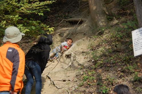 「きのくに子どもNPO」が孝子の森にやってっ来た     by     (TATE-misaki)_c0108460_2494145.jpg